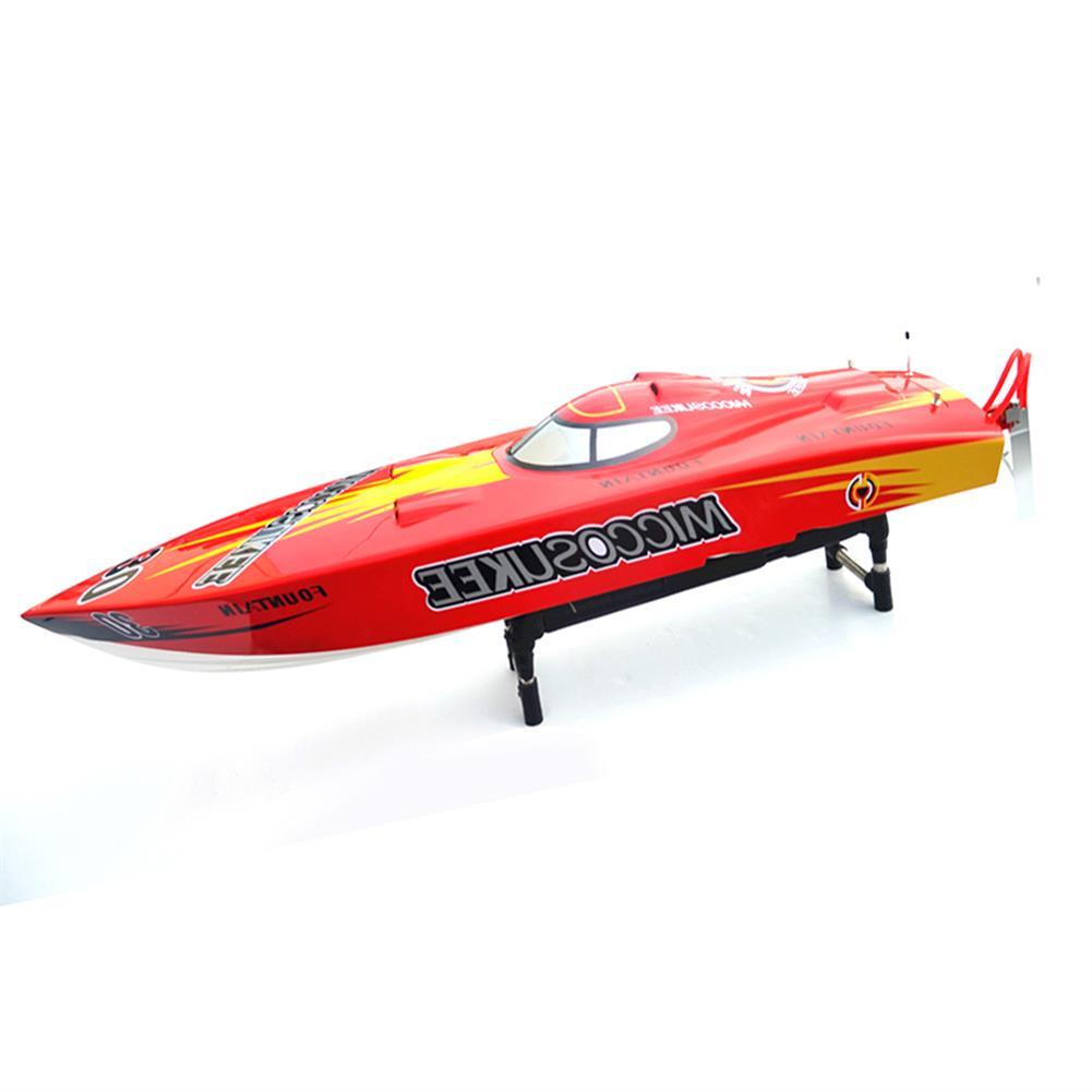 rc-boat 26I PE 2.4G 118cm FRP 15kg Servo 30C C Motor Waterproof Oil Electric Power RC Boat High Speed 85Km/h RC1451216