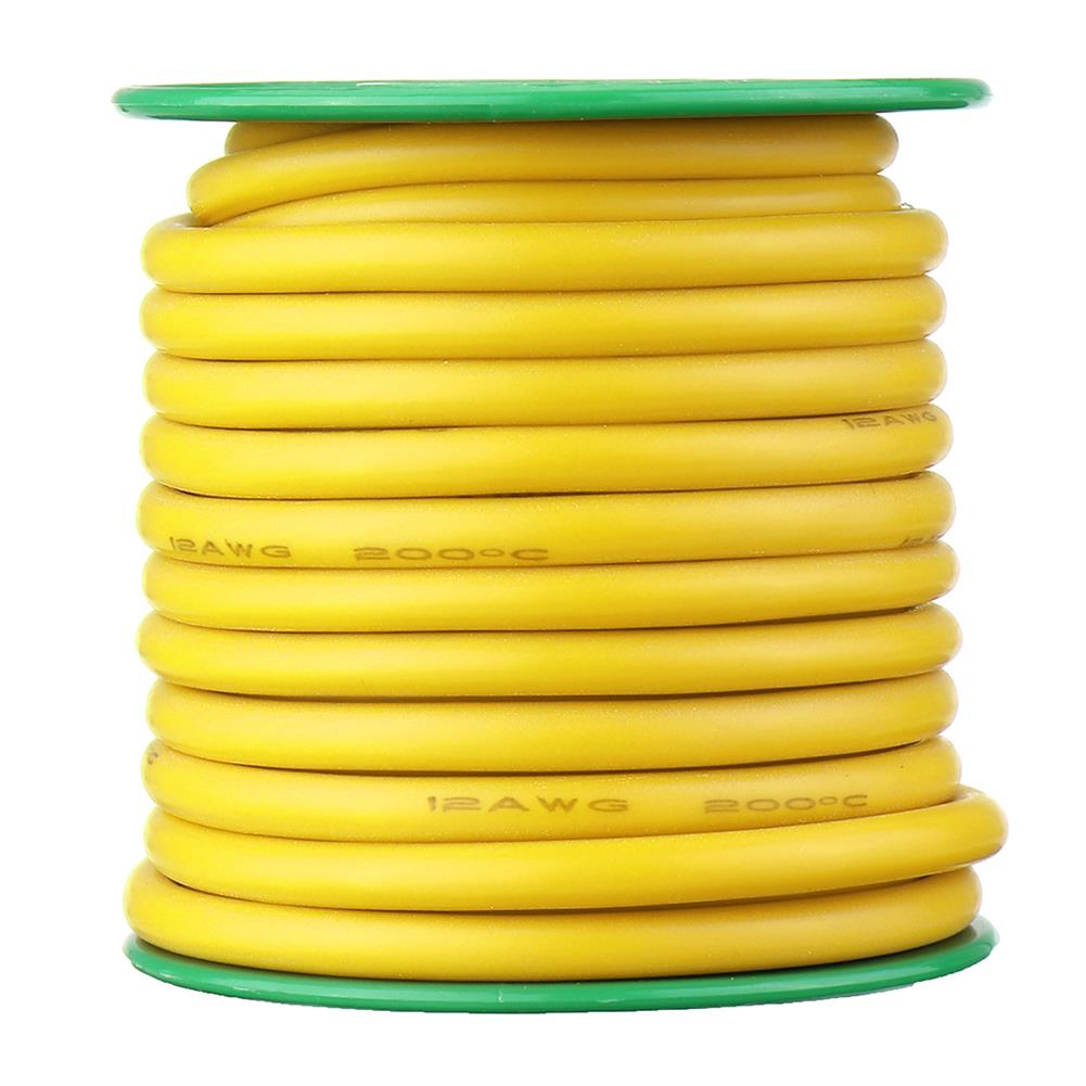 connector-cable-wire 7M 12AWG Soft Silicone Cable Wire High Temperature Tinned Copper RC1451264 3