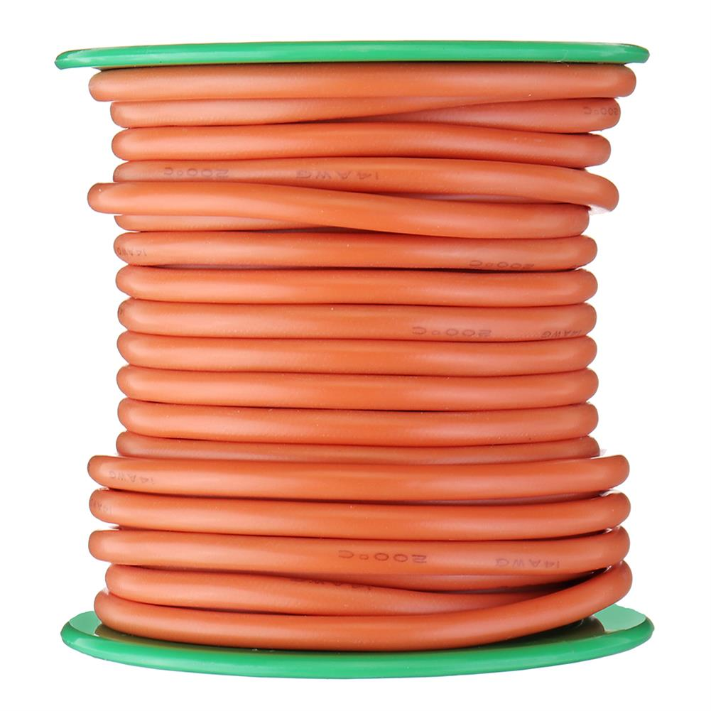 connector-cable-wire 7M 12AWG Soft Silicone Cable Wire High Temperature Tinned Copper RC1451264 5