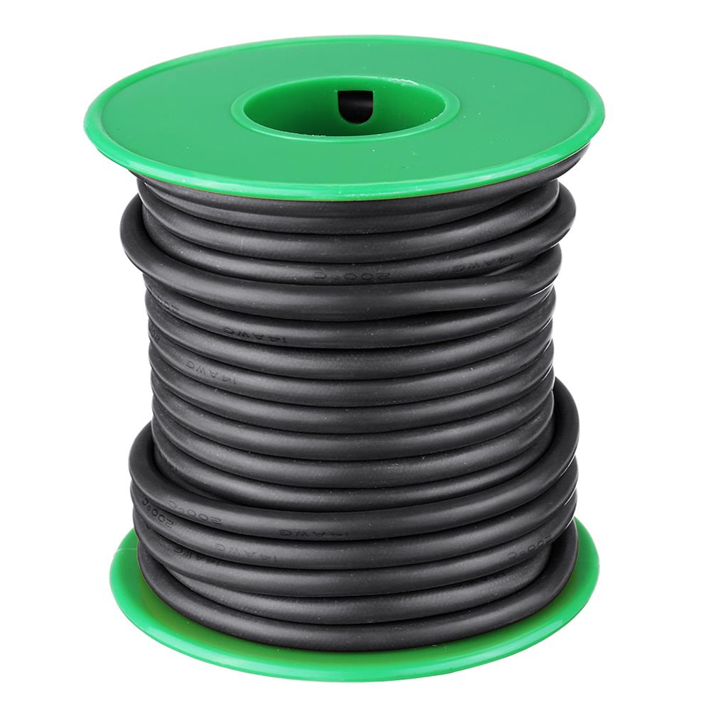 connector-cable-wire 7M 12AWG Soft Silicone Cable Wire High Temperature Tinned Copper RC1451264 8