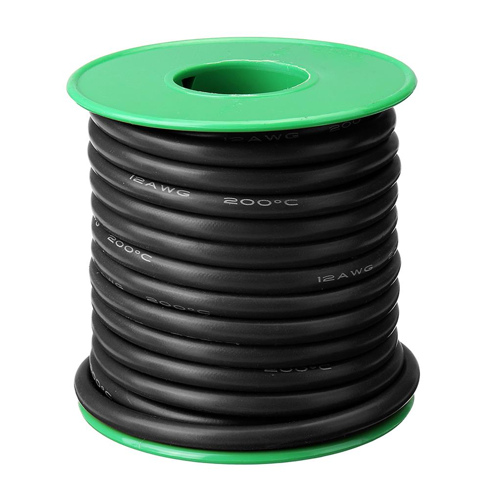 connector-cable-wire 4M 8AWG Soft Silicone Wire Cable High Temperature Tinned Copper RC1451266 6