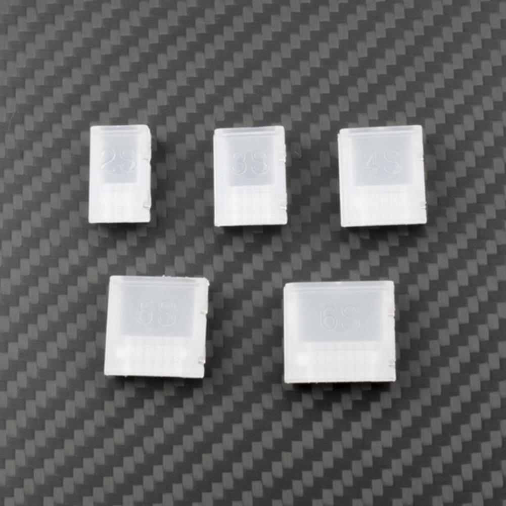 connector-cable-wire 20PCS RJXHOBBY Lipo Battery Plug Connector AB Clip Buckle For 2S-6S Lipo Battery RC1451685 4