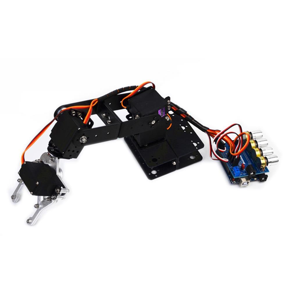 robot-arm-tank Small Hammer DIY Arduino 4DOF Aluminous RC Robot Arm RC1451686 2