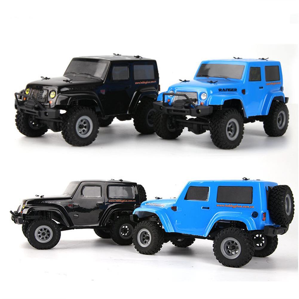 rc-cars URUAV 1/24 2.4G 4WD Mini Rc Car Proportional Control Waterproof Crawler Electric Vehicle RTR Model RC1453137 5