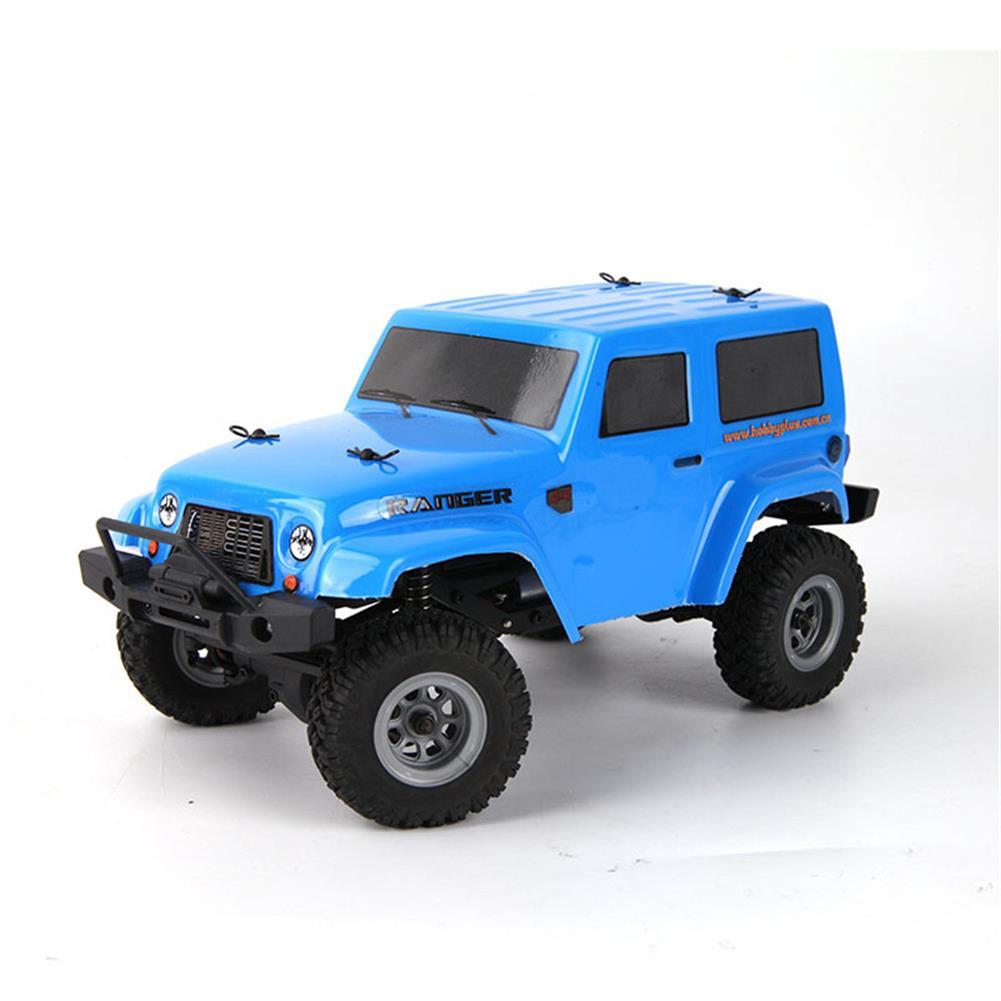 rc-cars URUAV 1/24 2.4G 4WD Mini Rc Car Proportional Control Waterproof Crawler Electric Vehicle RTR Model RC1453137 6