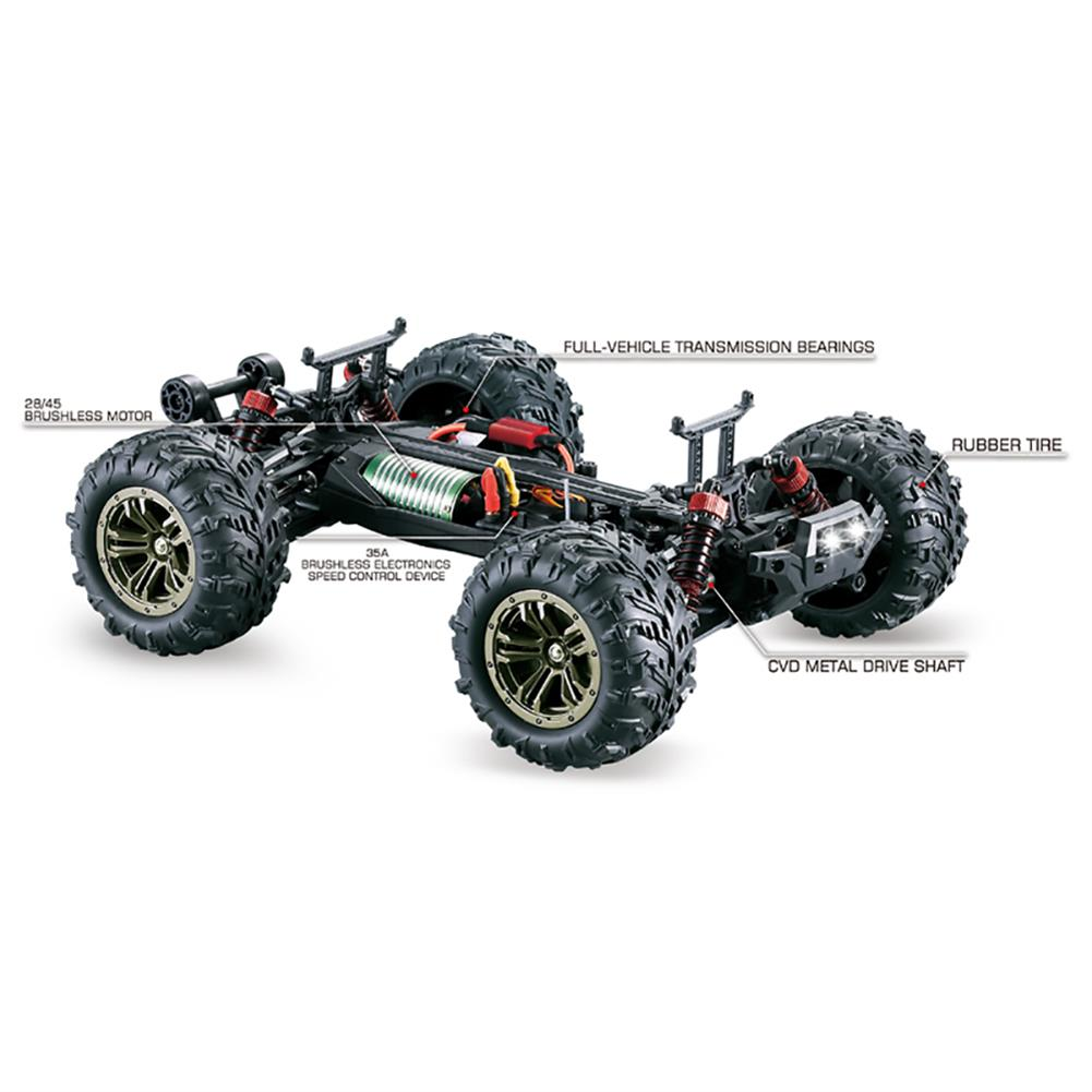 rc-cars Q903 1/16 2.4G 4WD 52km/h High Speed Brushless RC Car Dessert Buggy Vehicle Models RC1453721 8