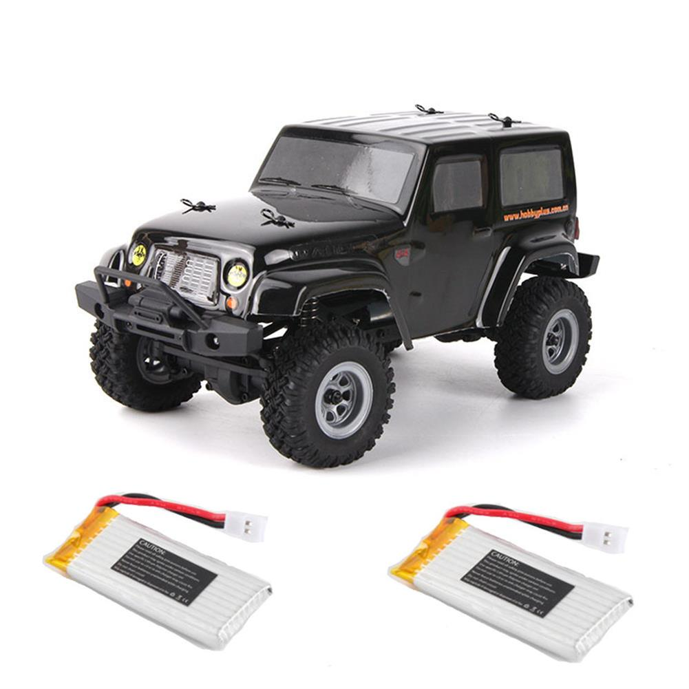 rc-cars URUAV 2 Battery 1/24 2.4G 4WD Mini Rc Car Proportional Control Waterproof Crawler Electric Vehicle RTR Model RC1453815