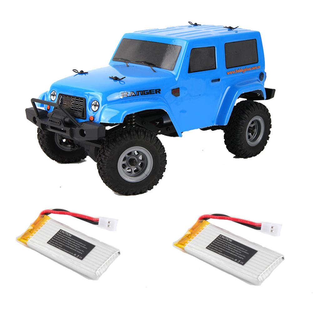 rc-cars URUAV 2 Battery 1/24 2.4G 4WD Mini Rc Car Proportional Control Waterproof Crawler Electric Vehicle RTR Model RC1453815 1