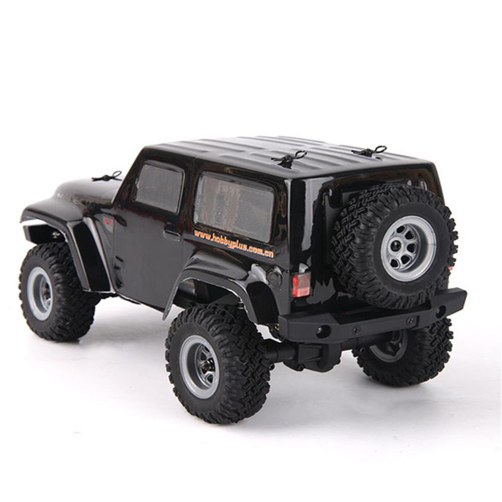 rc-cars URUAV 2 Battery 1/24 2.4G 4WD Mini Rc Car Proportional Control Waterproof Crawler Electric Vehicle RTR Model RC1453815 4