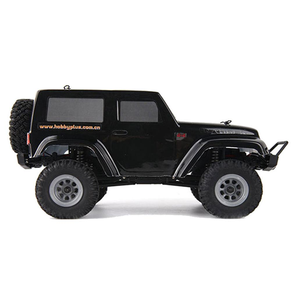rc-cars URUAV 2 Battery 1/24 2.4G 4WD Mini Rc Car Proportional Control Waterproof Crawler Electric Vehicle RTR Model RC1453815 5