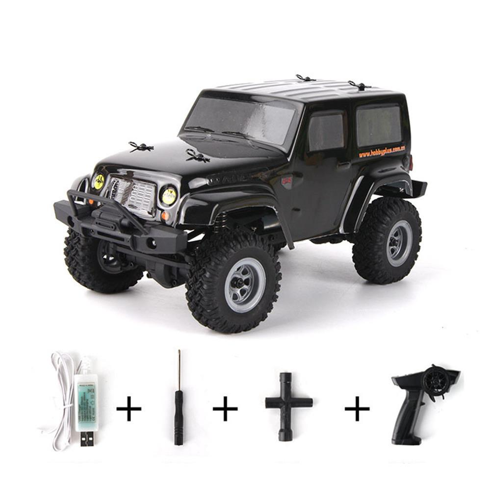 rc-cars URUAV 2 Battery 1/24 2.4G 4WD Mini Rc Car Proportional Control Waterproof Crawler Electric Vehicle RTR Model RC1453815 6