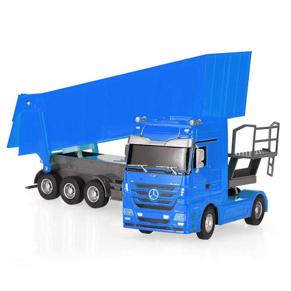 rc-cars RUICHUANG QY1101C 1/32 2.4G 6CH Rc Car Dump Truck Electric Mercedes RTR Model RC1456897