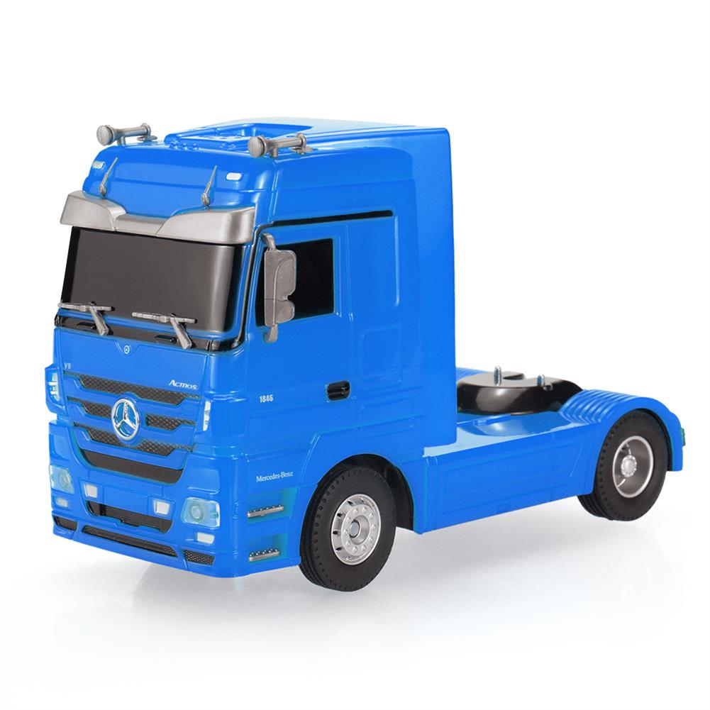 rc-cars RUICHUANG QY1101C 1/32 2.4G 6CH Rc Car Dump Truck Electric Mercedes RTR Model RC1456897 3