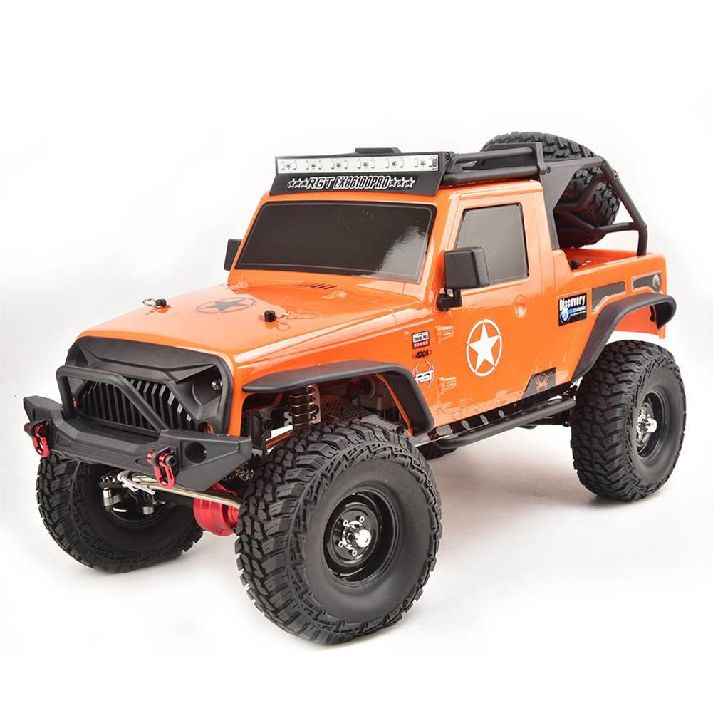 rc-cars RGT EX86100 PRO Kit 1/10 2.4G 4WD Rc Car Electric Climbing Rock Crawler without Electronic Parts RC1458990