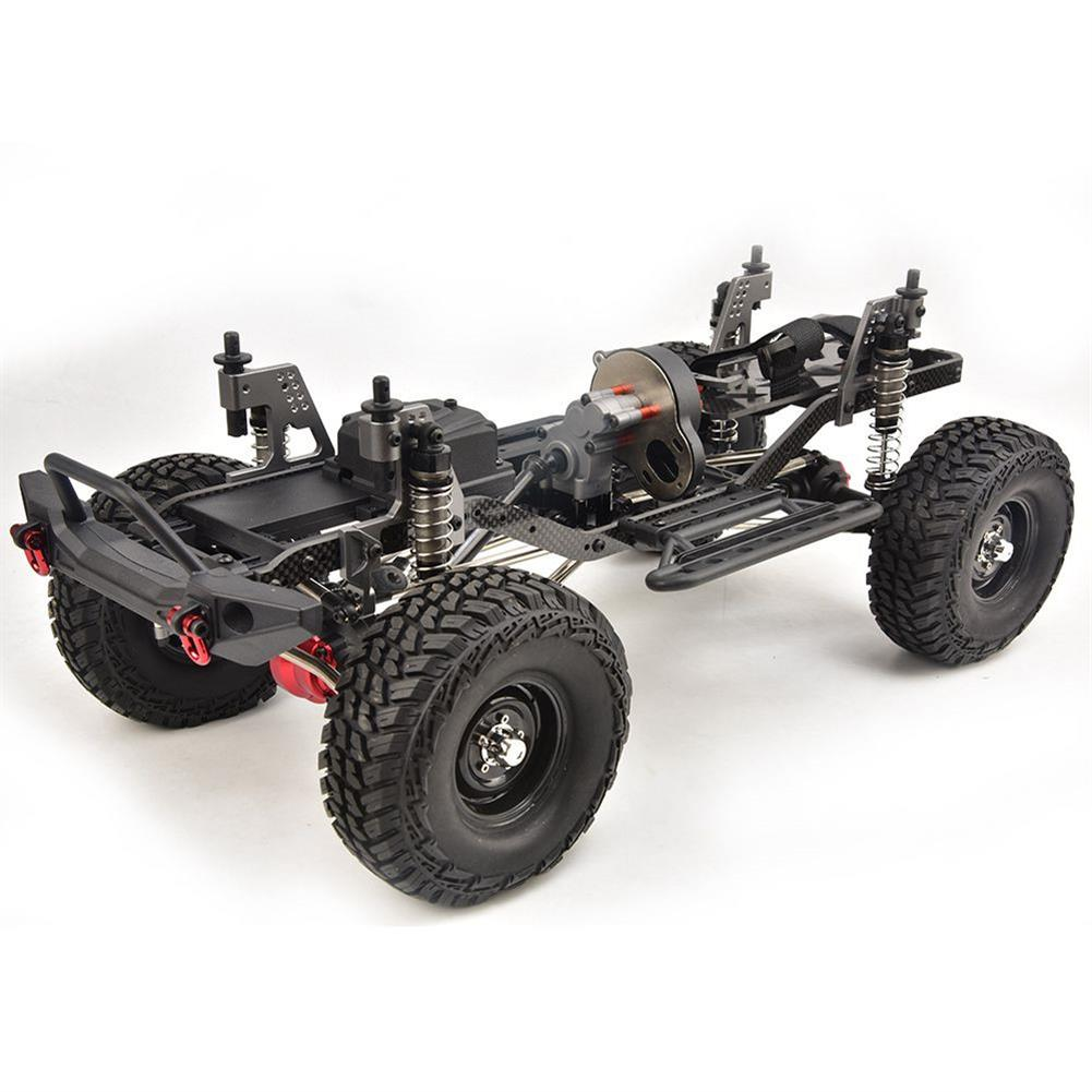 rc-cars RGT EX86100 PRO Kit 1/10 2.4G 4WD Rc Car Electric Climbing Rock Crawler without Electronic Parts RC1458990 2