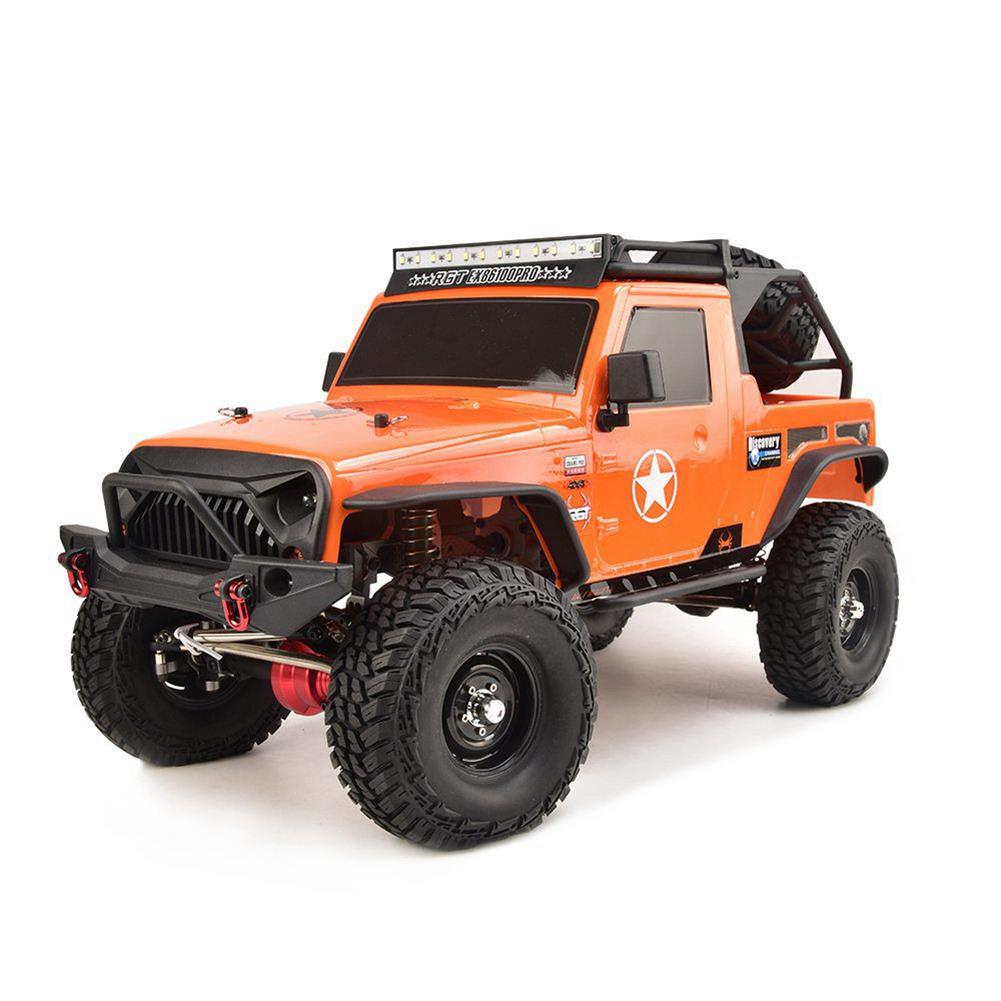 rc-cars RGT EX86100 PRO Kit 1/10 2.4G 4WD Rc Car Electric Climbing Rock Crawler without Electronic Parts RC1458990 3