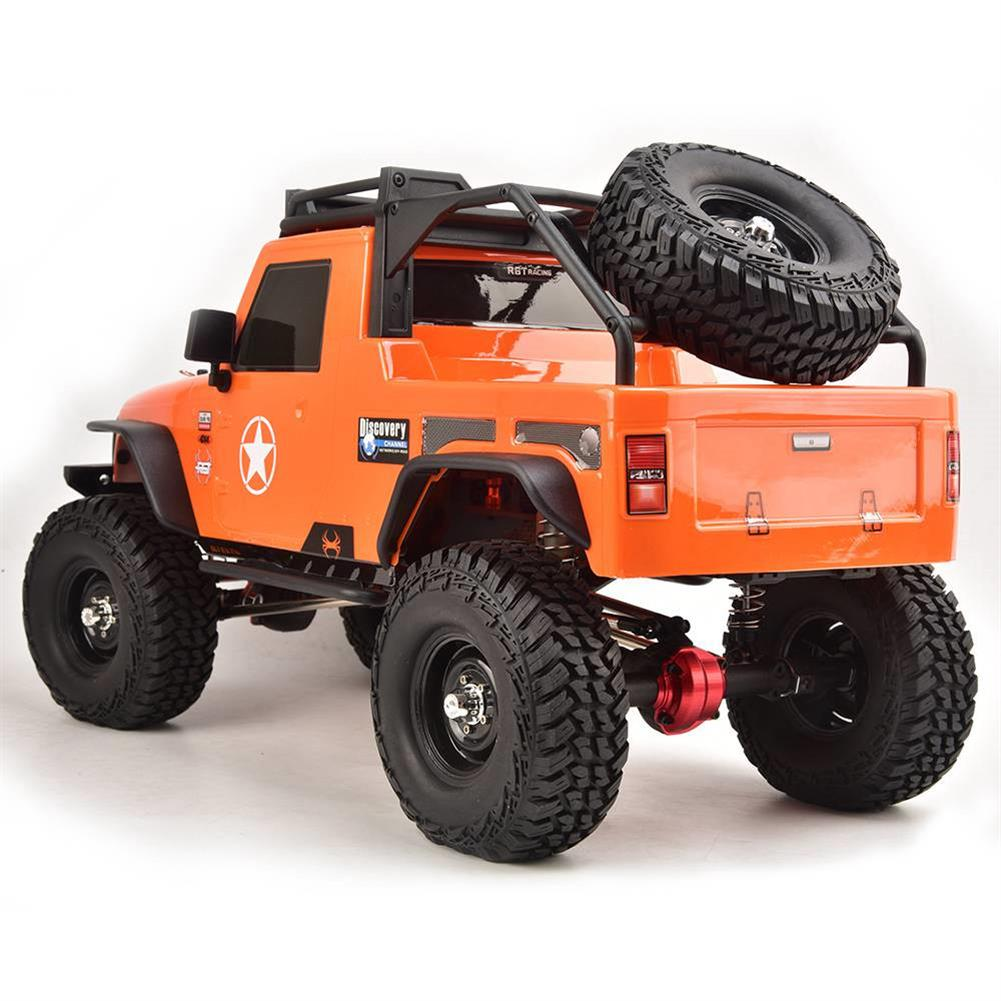 rc-cars RGT EX86100 PRO Kit 1/10 2.4G 4WD Rc Car Electric Climbing Rock Crawler without Electronic Parts RC1458990 4