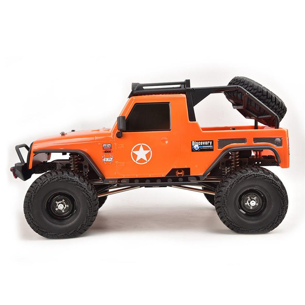 rc-cars RGT EX86100 PRO Kit 1/10 2.4G 4WD Rc Car Electric Climbing Rock Crawler without Electronic Parts RC1458990 5