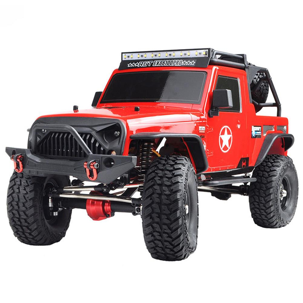 rc-cars RGT EX86100 PRO Kit 1/10 2.4G 4WD Rc Car Electric Climbing Rock Crawler without Electronic Parts RC1458990 8