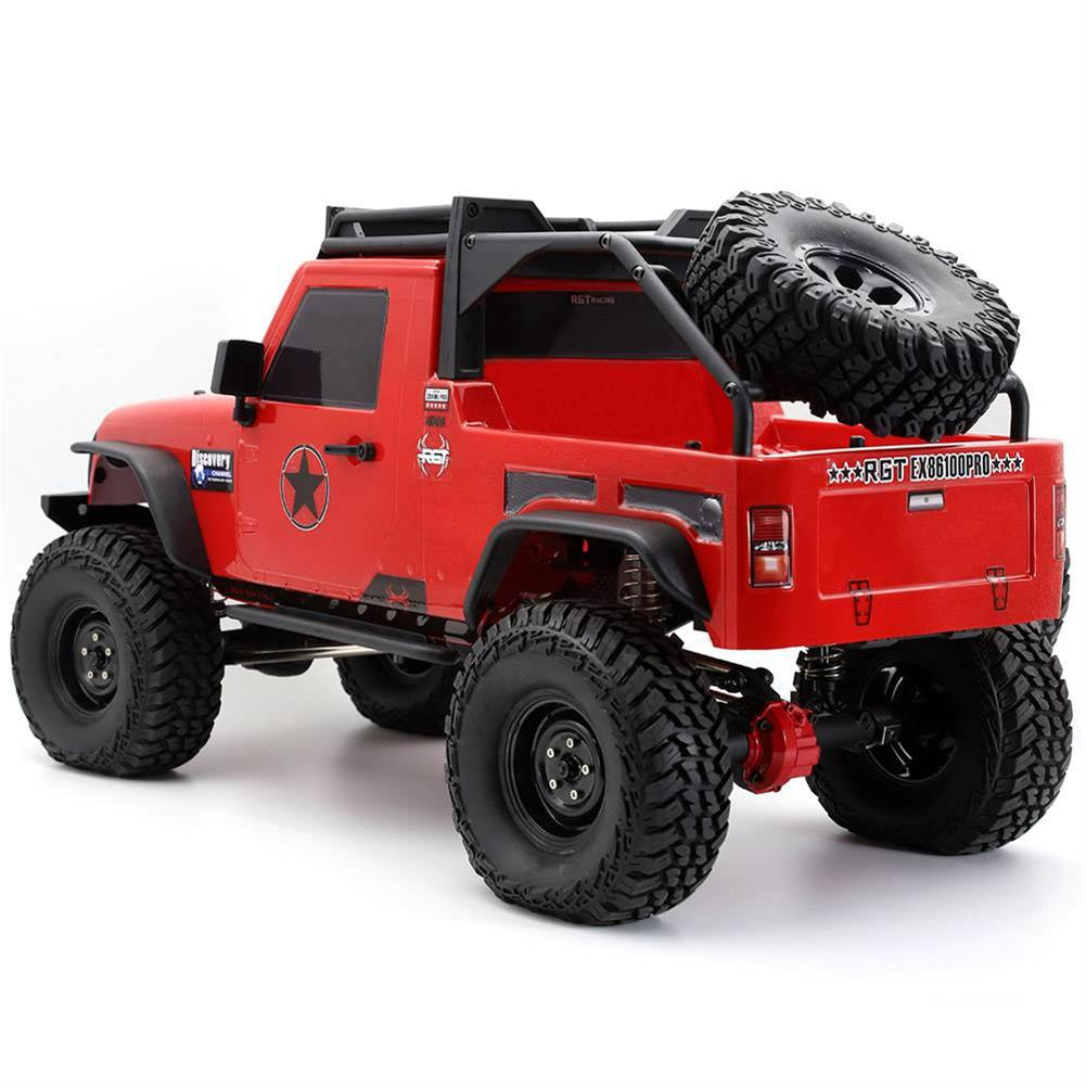 rc-cars RGT EX86100 PRO Kit 1/10 2.4G 4WD Rc Car Electric Climbing Rock Crawler without Electronic Parts RC1458990 9