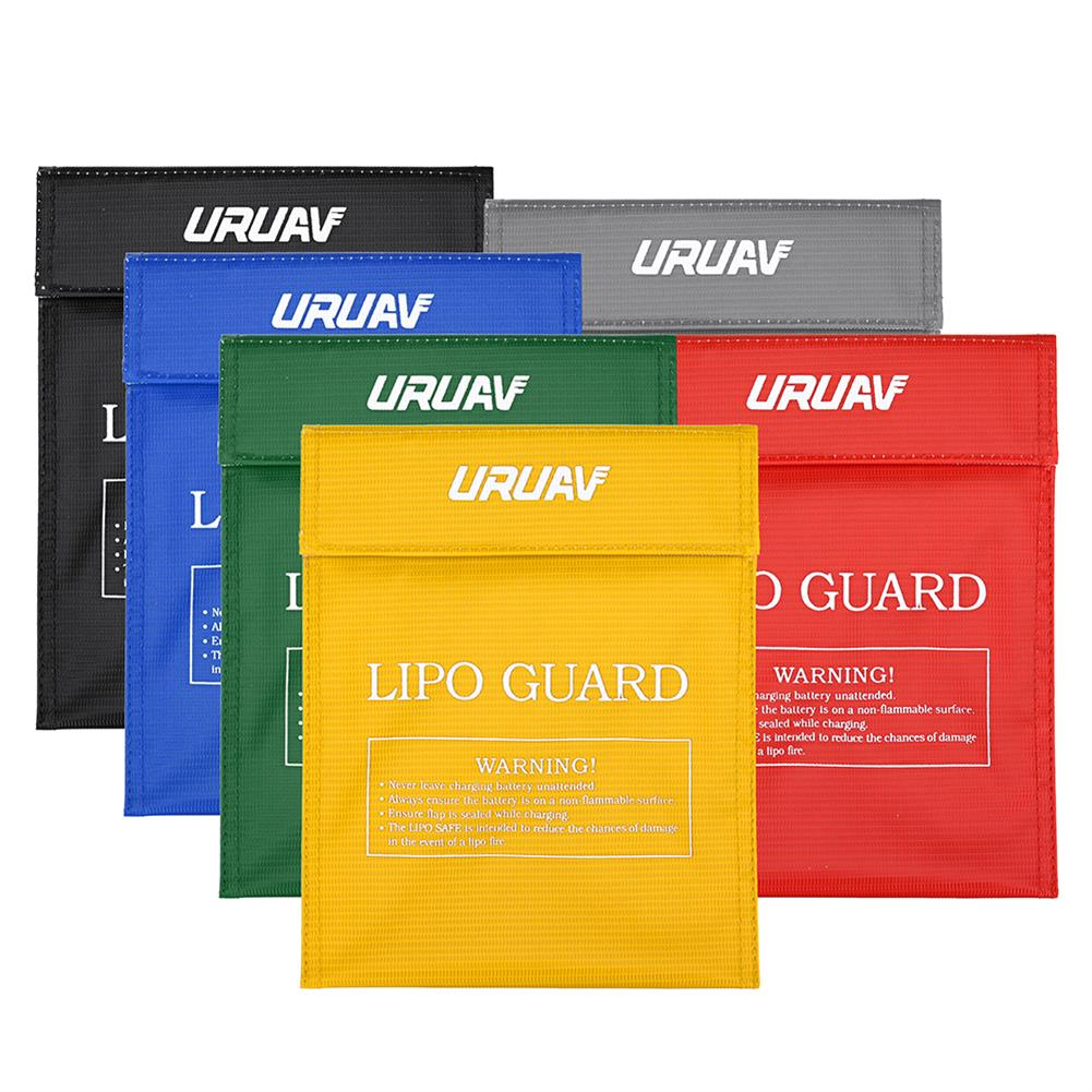 battery-charger URUAV Waterproof Explosion Proof Colorful Lipo Battery Safety Bag 30X23mm RC1460987