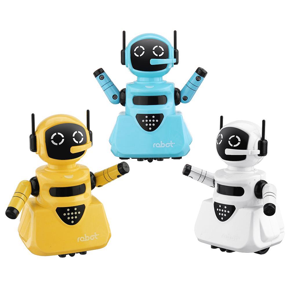 robot-toys Line Tracking Smart RC Robot Shining Light Robot Toy Gift For Children RC1461113