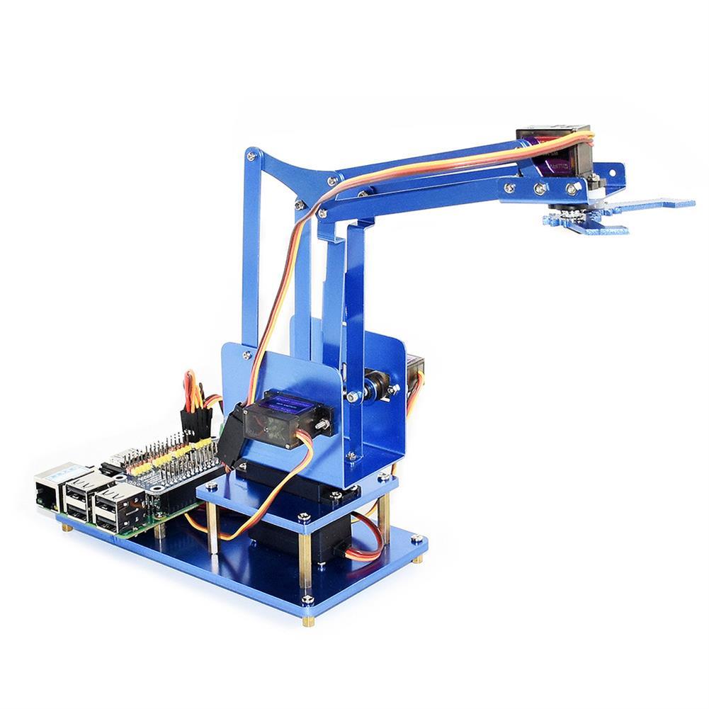 robot-arm-tank Waveshare Raspberry Pi 3B+ 3B Board DIY 4DOF Metal RC Robot Arm With Digital Servos RC1461297 2