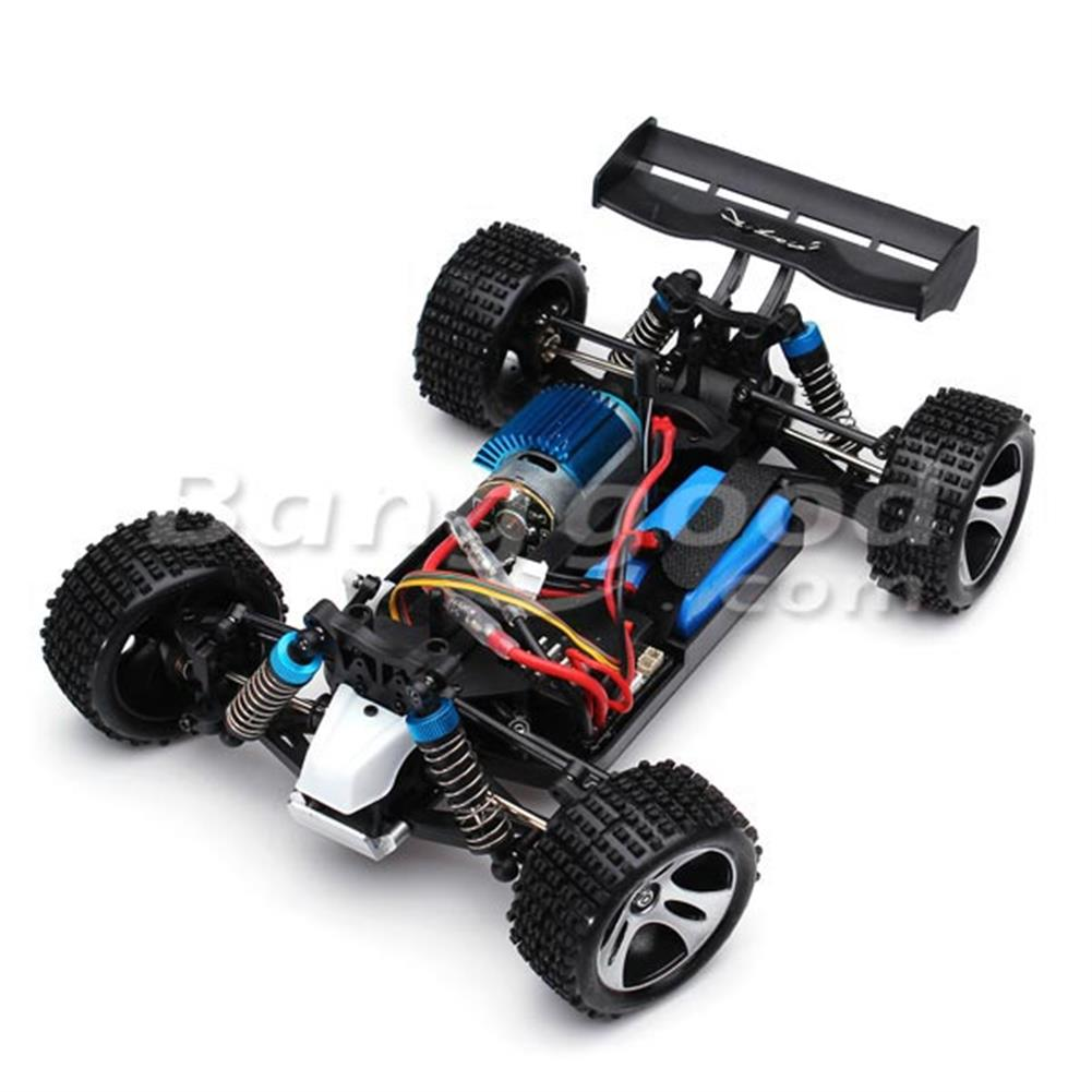 rc-cars Wltoys A959 Rc Car 1/18 2.4G 4WD Off Road Buggy Truck RTR Toy RC916961 6