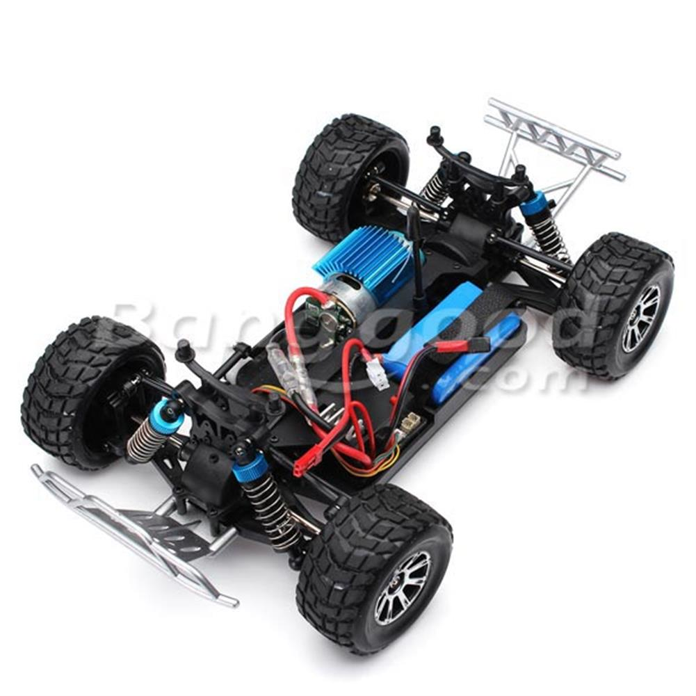 rc-cars Wltoys A969 Rc Car 1/18 2.4Gh 4WD Short Course Truck RC916962 7