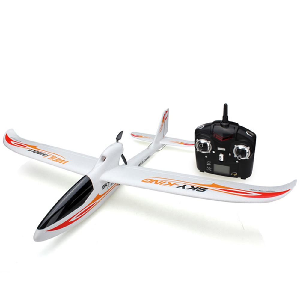 rc-airplane WLtoys F959 Sky King 2.4G 3CH 750mm Wingspan RC Airplane With Led RTF RC938097