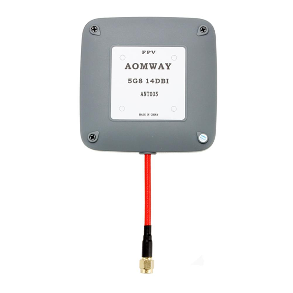 fpv-accessories Aomway 5.8GHz 14dBi High Gain Flat FPV Receiver Antenna RHCP for RC Drone FPV Racing RC947148 3