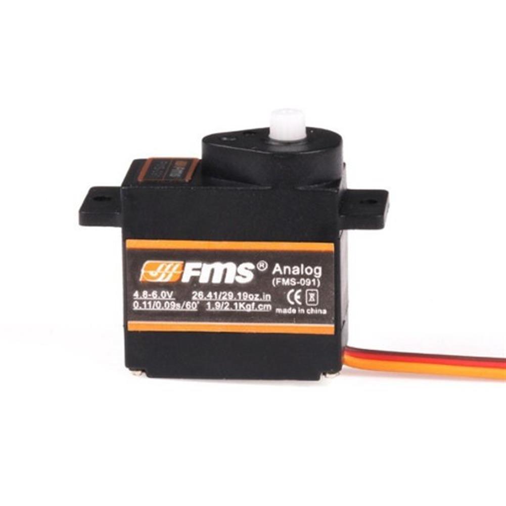 rc-airplane-parts-FMS FMS-091 Analog 9g Servo Compatible With Futaba JR Sanwa Hitec-RC975567