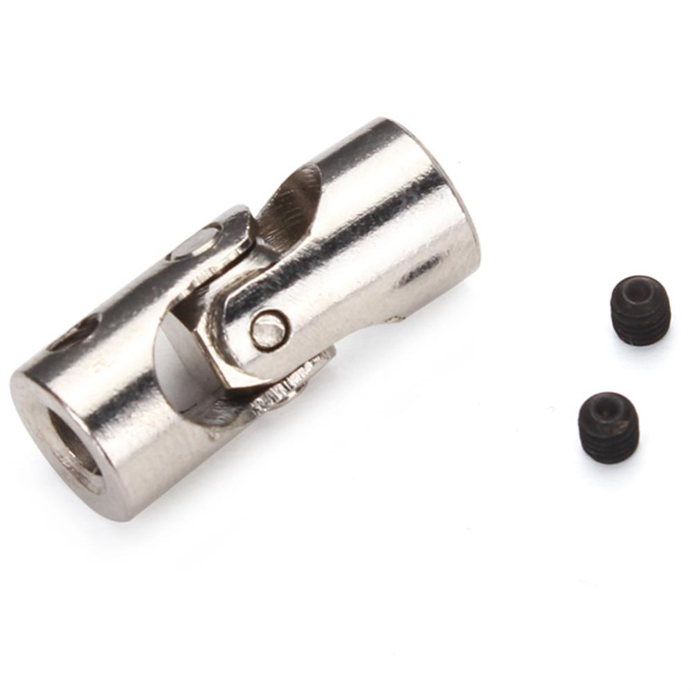 rc-boat-parts RC Car/Boat Metal Universal Joint Stainless Steel Connector 4*3/4*3.17/4*4/4*5/5*5/6*6mm RC976297
