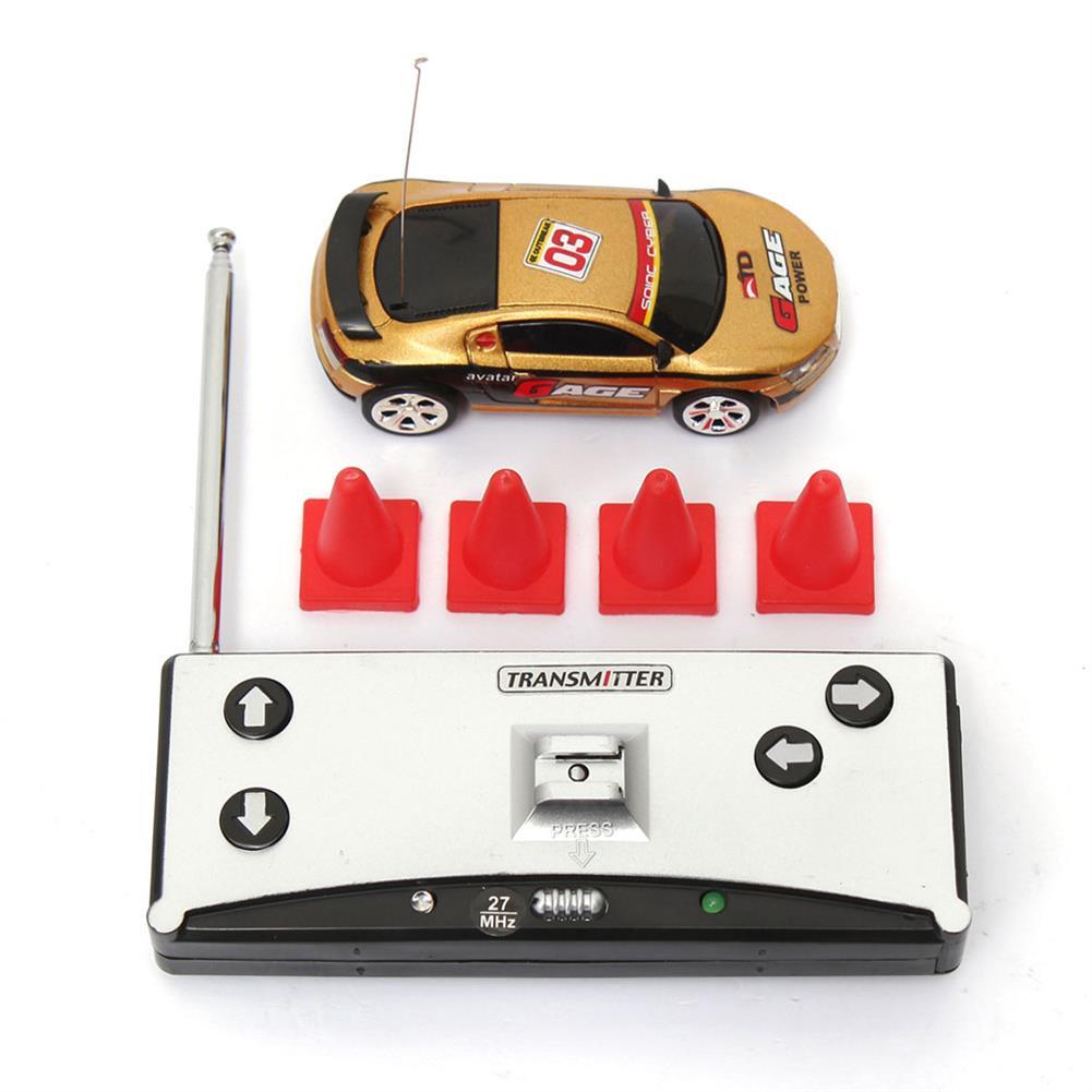 rc-cars Coke Can Mini Radio Remote Control Micro Racing RC Car RC986511 2