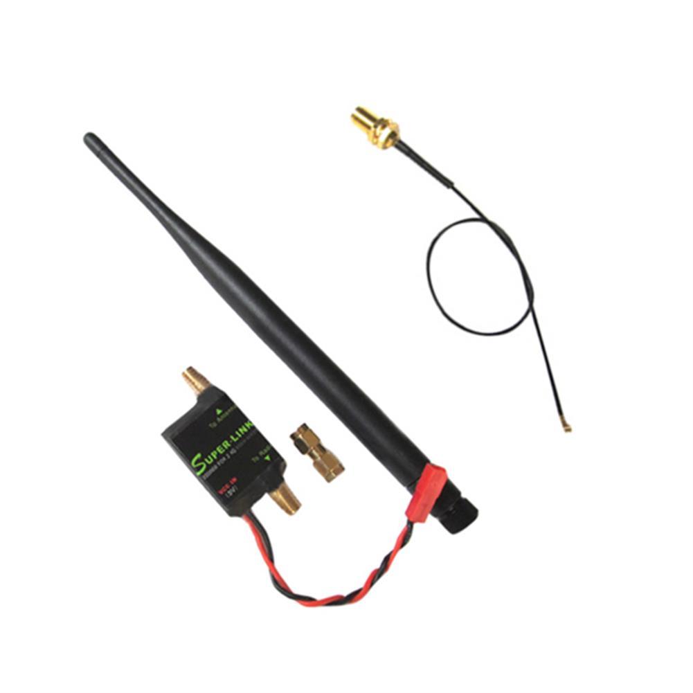 radios-receiver 2.4G 2W Radio Signal Booster & Antenna & Feeder For DJI Phantom Multirotor TX Extend Range RC986756