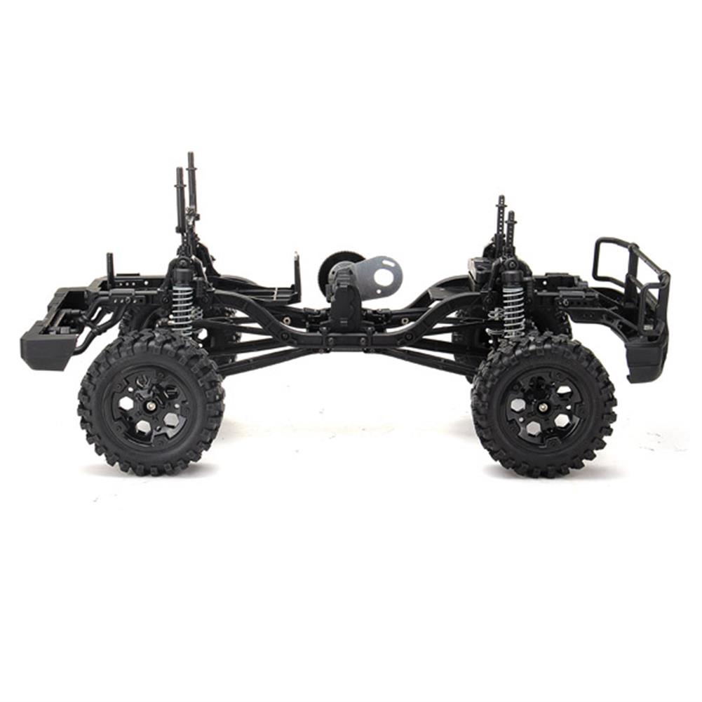 rc-cars HG P402 1/10 RC Car Kit Without Electronic Parts Drive Roadster Climbing Car RC1030880 2