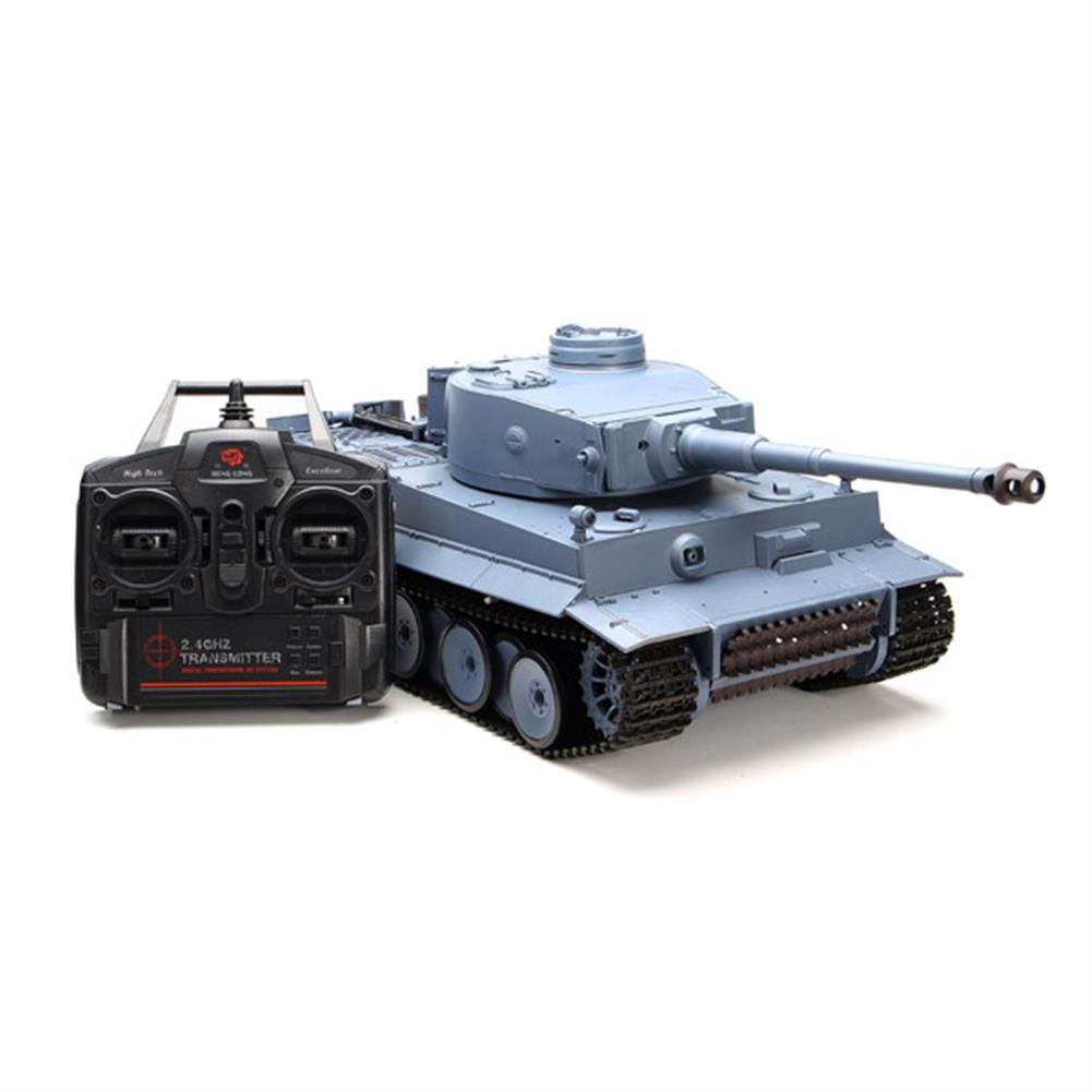 rc-cars Heng Long 3818-1 2.4G 1/16 Germany Tiger I Tank Radio Control Battle Tank RC1035982 1