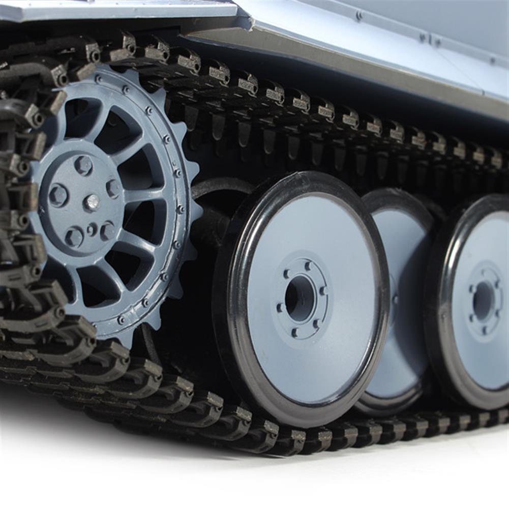 rc-cars Heng Long 3818-1 2.4G 1/16 Germany Tiger I Tank Radio Control Battle Tank RC1035982 8