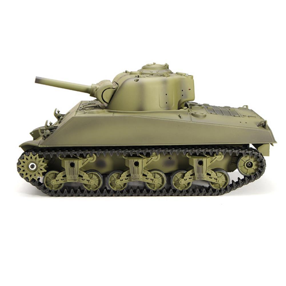 rc-cars Heng Long 3898-1 2.4G 1/16 US Sherman M4A3 Tank Radio Control Battle Tank RC1036278 2