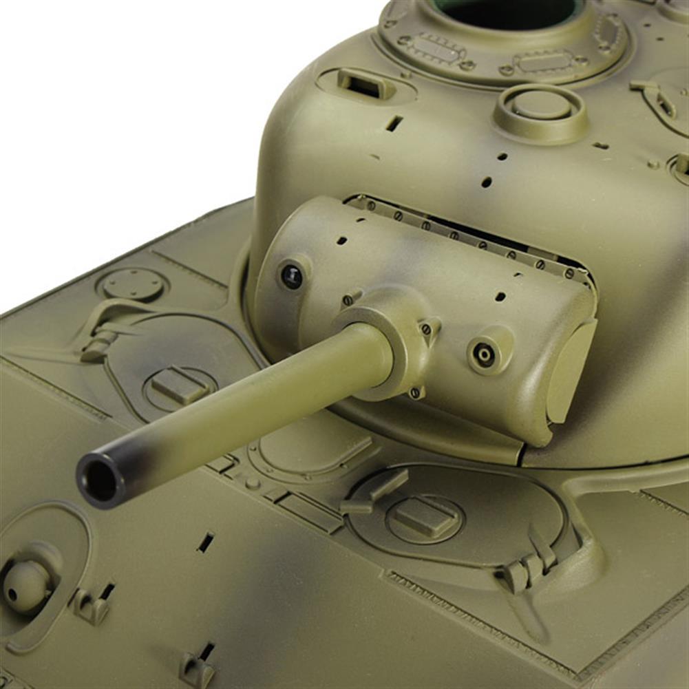 rc-cars Heng Long 3898-1 2.4G 1/16 US Sherman M4A3 Tank Radio Control Battle Tank RC1036278 5