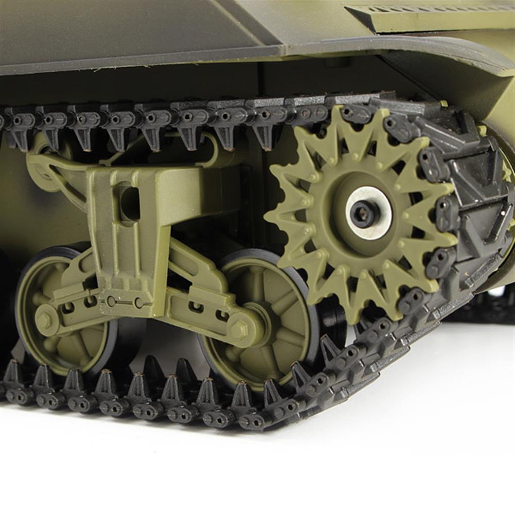 rc-cars Heng Long 3898-1 2.4G 1/16 US Sherman M4A3 Tank Radio Control Battle Tank RC1036278 8