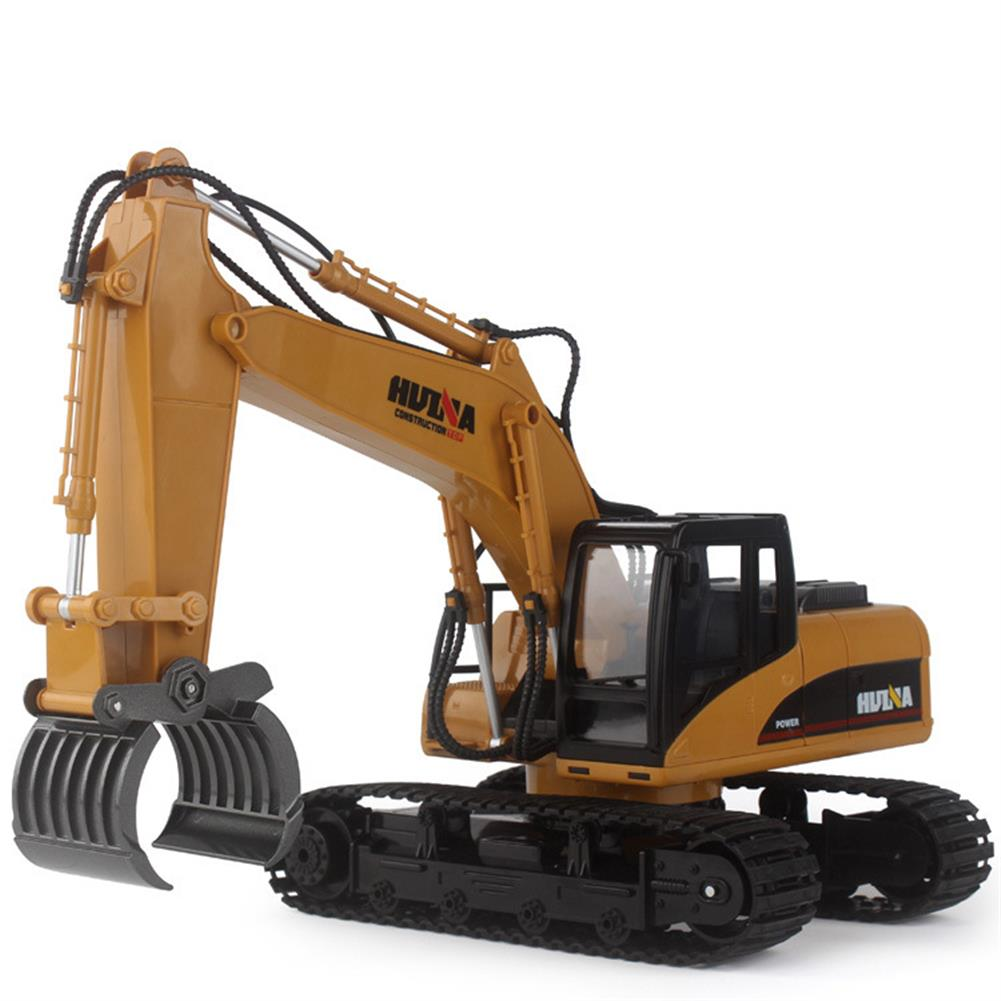 rc-cars HuiNa 570 2.4G 1/12 RC Excavator 16 Channels Metal Plastic RC Car Model Toys RC1056742