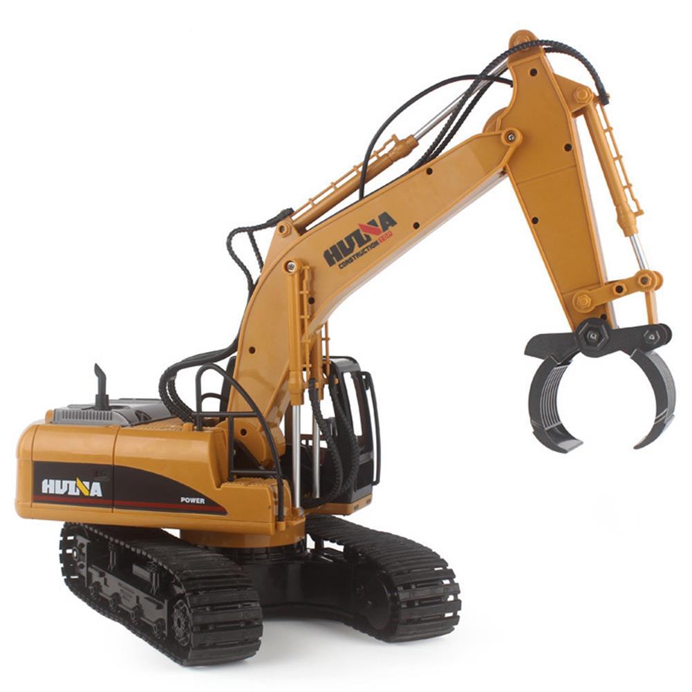 rc-cars HuiNa 570 2.4G 1/12 RC Excavator 16 Channels Metal Plastic RC Car Model Toys RC1056742 1