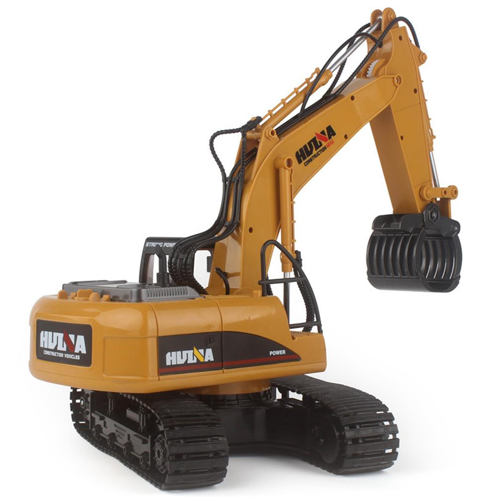 rc-cars HuiNa 570 2.4G 1/12 RC Excavator 16 Channels Metal Plastic RC Car Model Toys RC1056742 2
