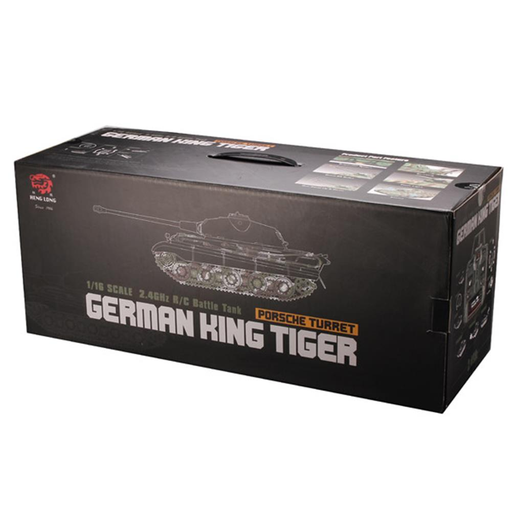 rc-cars Heng Long 1/16 2.4G 3888-1 German King Tiger Battle Tank RC1061808 9