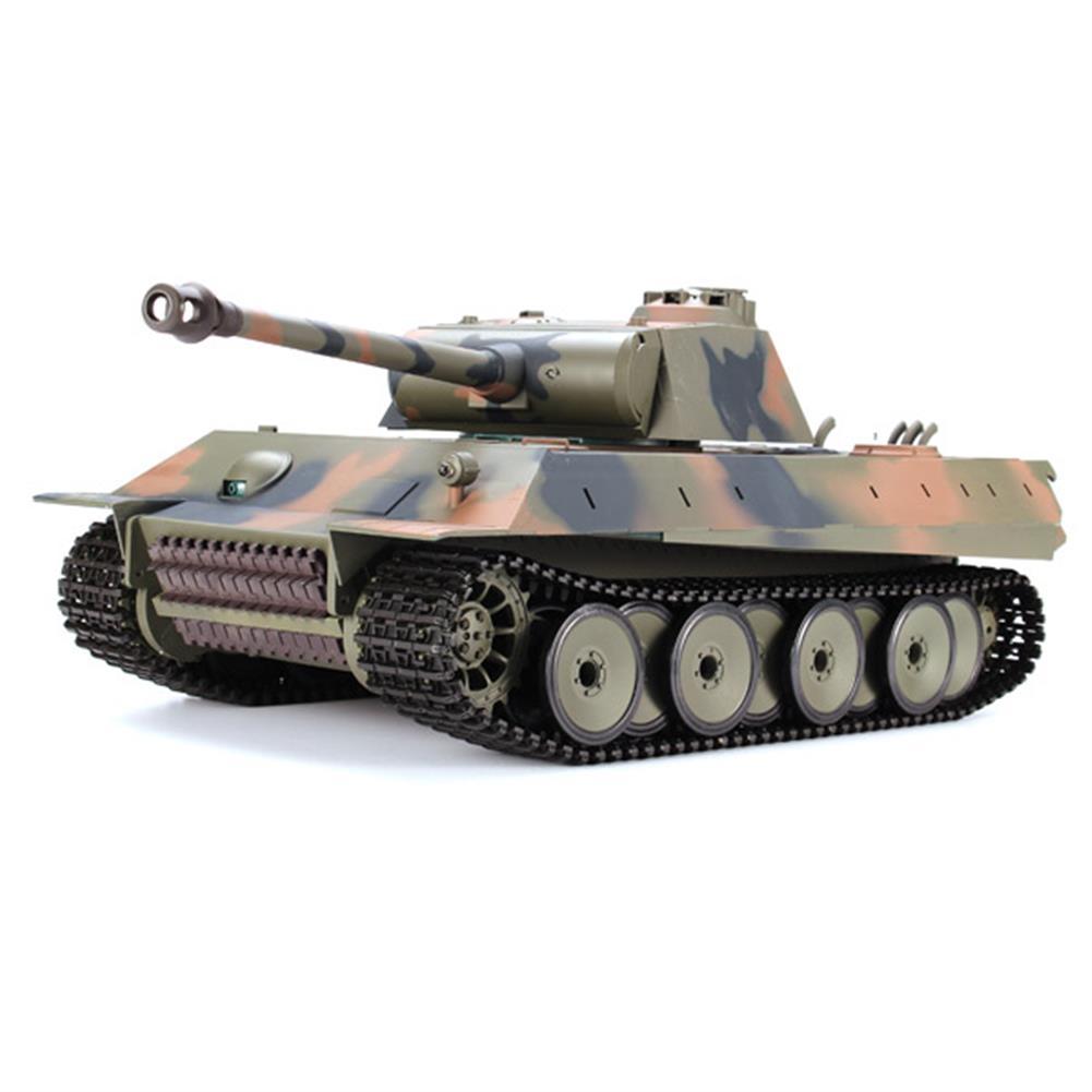 rc-cars Heng Long 1/16 2.4G 3819-1 German Panther Snow Leopard Battle Tank RC Tank RC1062202