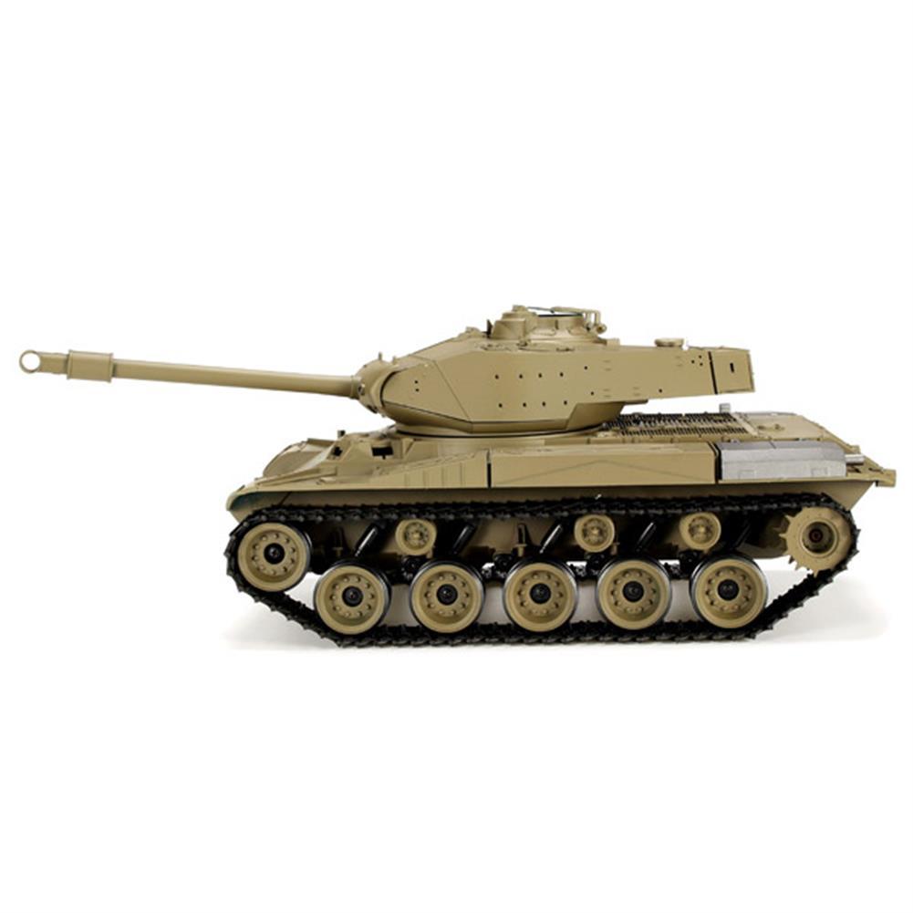 rc-cars Heng Long 3839-1 2.4G 1/16 US M41A3 Walker Bulldog Light Tank RC Battle Tank RC1069224 2