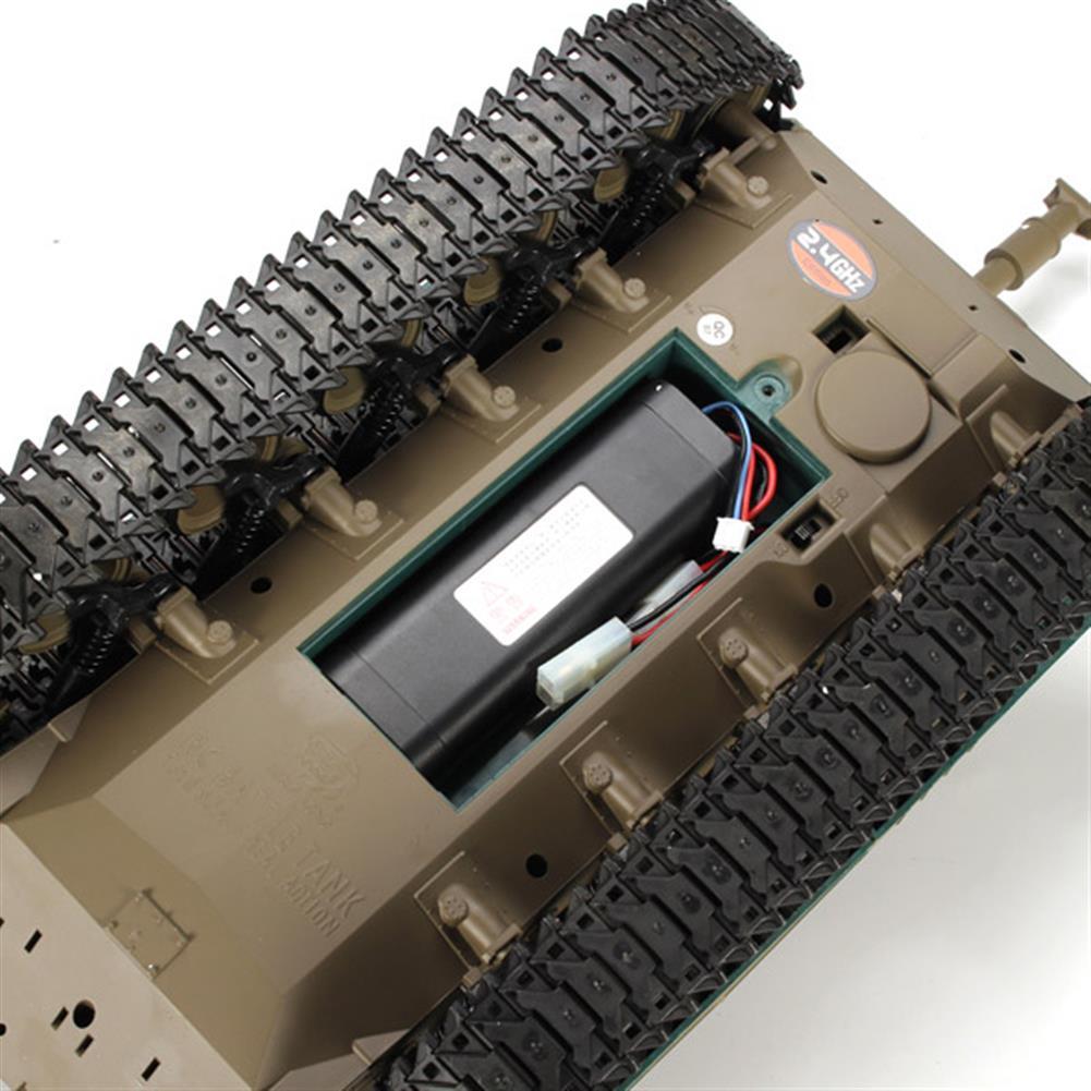rc-cars Heng Long 3839-1 2.4G 1/16 US M41A3 Walker Bulldog Light Tank RC Battle Tank RC1069224 3