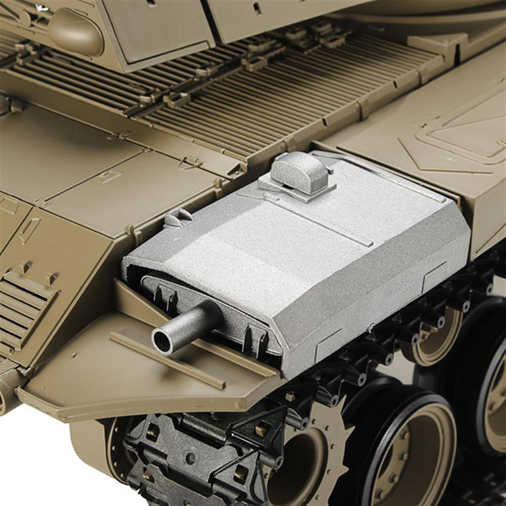 rc-cars Heng Long 3839-1 2.4G 1/16 US M41A3 Walker Bulldog Light Tank RC Battle Tank RC1069224 4