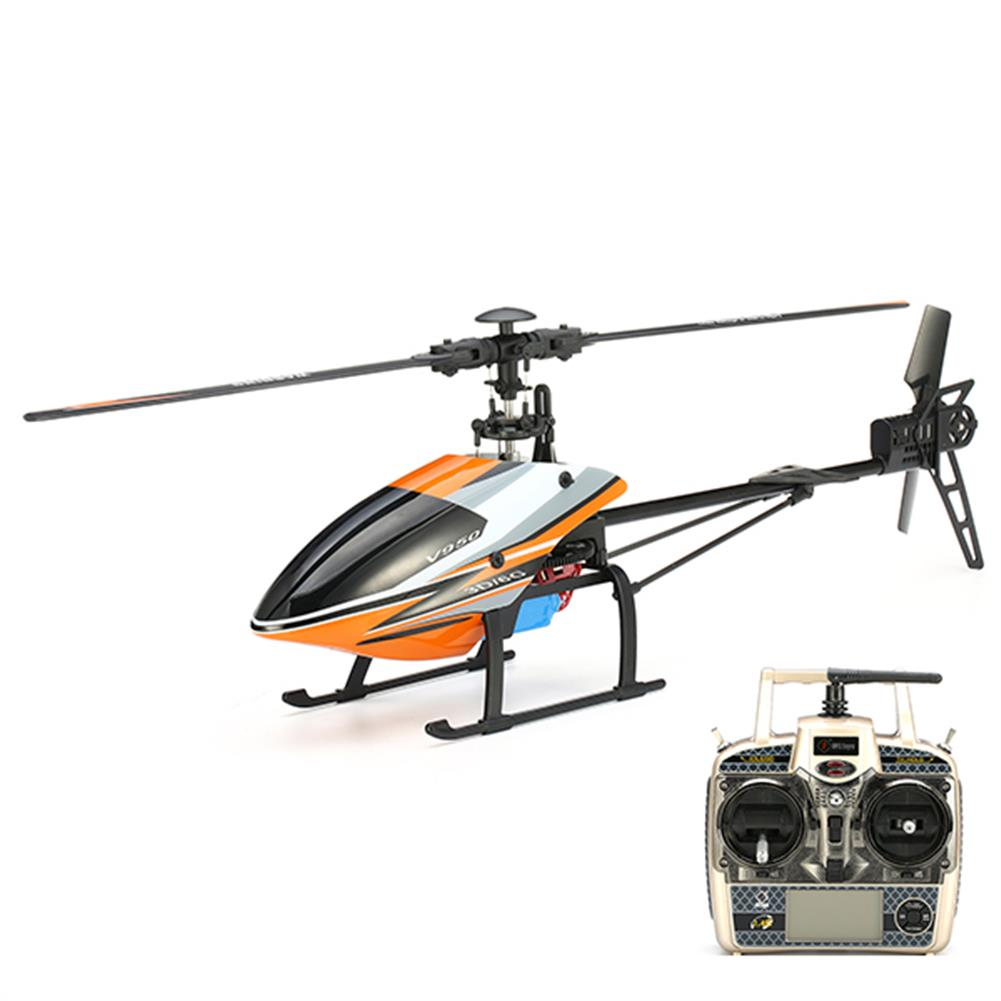 rc-helicopter WLtoys V950 2.4G 6CH 3D6G System Brushless Flybarless RC Helicopter RTF RC1080417